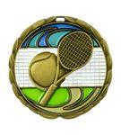 Custom Tennis Die Cast Suncatcher Medal (2.5