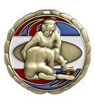 Custom Wrestling Die Cast Suncatcher Medal (2.5