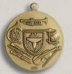 Custom Shooting Rifle Stock Die Struck Medal (1.75