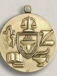 Custom Tennis Male Stock Die Struck Medal (1.75