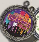 Custom Digital Color Print Insert Medal (2.75
