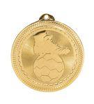 Custom Soccer Stock BriteLaser Medal (2
