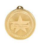 Custom Star Performer Stock BriteLaser Medal (2