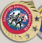 Custom Digital Color Print Insert Medal (3