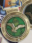 Custom Die Cast Medal w/ Color (3.5