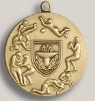 Custom Music General Stock Die Struck Medal (1.75