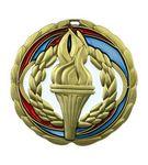 Custom Victory Die Cast Suncatcher Medal (2.5