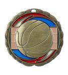 Custom Basketball Die Cast Suncatcher Medal (2.5