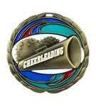 Custom Cheerleading Die Cast Suncatcher Medal (2.5