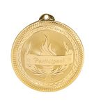 Custom Participant Stock BriteLaser Medal (2
