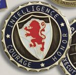 Custom Military/ Challenge/ Flip Coin (2.25