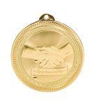 Custom Sportsmanship Stock BriteLaser Medal (2