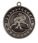 Custom Wrestling Stock Die Cast Medal (2