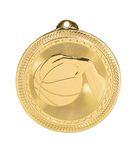 Custom Basketball Stock BriteLaser Medal (2