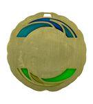 Custom Soccer Die Cast Suncatcher Medal (2.5