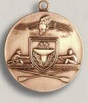 Custom Soccer Female Stock Die Struck Medal (1.75