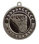 Custom Basketball Stock Die Cast Medal (2