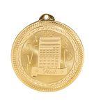Custom Math Stock BriteLaser Medal (2