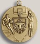 Custom Tug of War Stock Die Struck Medal (1.75