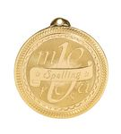 Custom Spelling Stock BriteLaser Medal (2