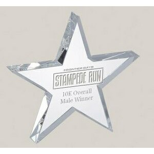 "Star Glass Award (4"")"