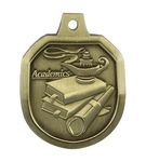 Custom Academics Stock Die Cast Medal (1.5