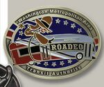 Custom Die Cast Belt Buckle (2