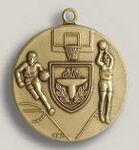 Custom Scholastic Stock Die Struck Medal (1.75