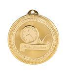 Custom Perfect Attendance Stock BriteLaser Medal (2