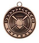 Custom Softball Stock Die Cast Medal (2