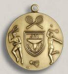 Custom Walkathon Stock Die Struck Medal (1.75