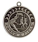 Custom Track & Field Stock Die Cast Medal (2