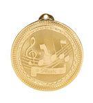 Custom Music Orchestra Stock BriteLaser Medal (2