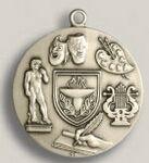 Custom Fine Arts Stock Die Struck Medal (1.75