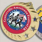 Custom Digital Color Print Insert Medal (2.5