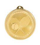 Custom Tennis Stock BriteLaser Medal (2