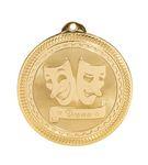 Custom Drama Stock BriteLaser Medal (2