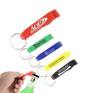 ValuePlus Bottle/Can Opener Key Chain (Red)