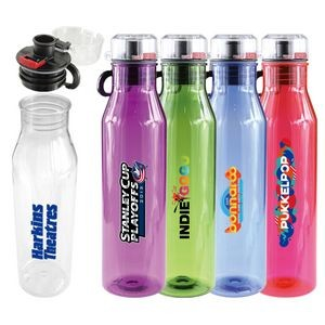 Atlantis 25 Oz. Acrylic Sports Bottle (Clear)