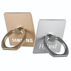 Metal Square Ring Ring Phone Holder with Mounting Hook