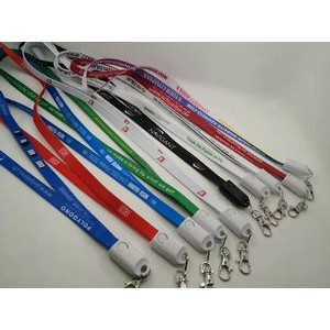 2-IN-1 Lanyard USB Data Transfer Cable