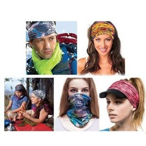 Microfiber Multi-Function Scarf & Head Wrap