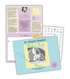 Babys First Year Journal & Calendar