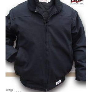Zip Sleeve Insulated Bomber Jacket