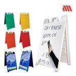 Custom A-Frame Sign W/ Dry Eraser & Lamination (25
