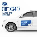 Custom Large Car Magnet (18