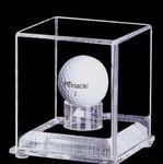 Custom Acrylic Golf Ball Display Case w/ 3/4