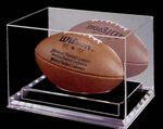 Custom Acrylic Football Display Case w 3/4