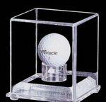 Custom Acrylic Golf Ball Display Case w/ 1/4