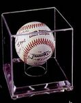 Custom Acrylic Baseball Case w/ 1/4